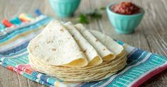 Best Ever Homemade Flour Tortillas The Café Sucre Farine