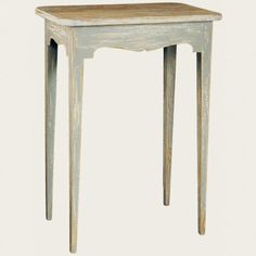 Chelsea Textiles side table with an old finish