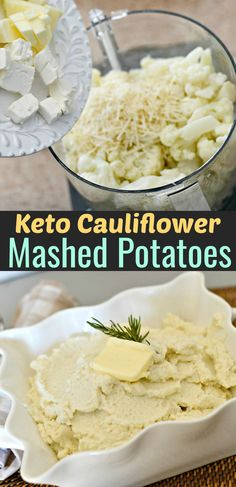 Easy Keto Cauliflower Mashed Potatoes (Including a Must-Add Ingredient!) Easy Keto Cauliflower Mashed Potatoes (Including a Must-Add Ingredient! Cauliflower Mashed Potatoes Keto, Easy Mashed Potatoes, Mashed Potato Recipes, Cauliflower Recipes, Cauliflower Rice, Keto Friendly Desserts, Low Carb Desserts, Gourmet Recipes, Low Carb Recipes