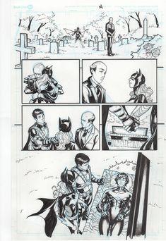 Primera versión de la supuesta muerte de Nightwing.