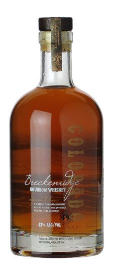 Breckenridge Distillery Colorado Bourbon // Got my hands on some of this a couple weekends ago. Tasty!