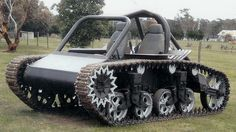 This Your idea of a Snowmachine ~> The Stuart army tank has a supercharged 7.0-litre V8 engine.