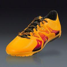 new products 2387f 19865 El mas nuevo Zapatillas de futbol Para Moqueta Adidas X 15.3 TF El Oro  Solar Negro Rosa Choque
