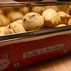 Recette – Muffin fleur d'oranger, cœur chocolat
