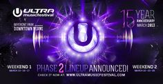 ULTRA MUSIC FESTIVAL DELIVERS ON ANTICIPATED PHASE 2 LINEUP