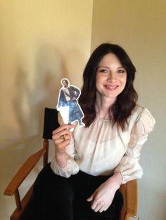 Caitriona Balfe with Pocket Jamie