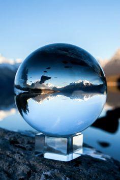 Lake McDonald, Glacier National Park, Montana Photo Artistique, Belle Photo, Glass Ball, Crystal Ball, Color Splash, Nikon, Beautiful Pictures, Reflection, Bubbles