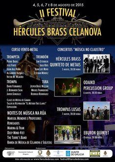 II Festival Hércules Brass Celanova 2.015