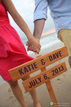Custom Wedding Sign Made to Order Save the Date by TheCommonSign