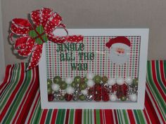 The Purple Pumpkin Blog: 12 Ideas for Christmas Shadow Boxes