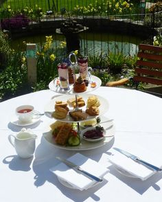 Tea, biscuits, sandwiches, jam and ice-cream ... Afternoon tea at Howard's House Hotel in Wiltshire. www.howardshousehotel.co.uk