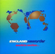 New Order - World In Motion - D: Peter Saville (1990).