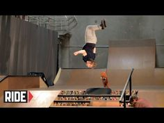 Skater backflips off his board, down steps, and lands on another board  This is insane…    Skateboarder Backflips Down 6 Stairs!!! - Adam Miller