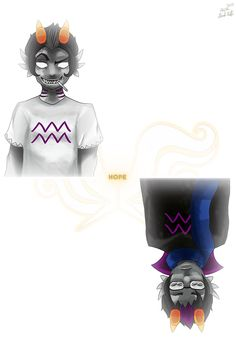 Flipped version of my other art. Homestuck, Troll, My Arts