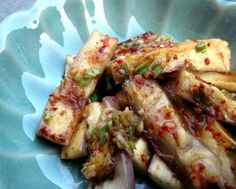 Korean Seasoned Eggplant Side Dish (Gaji Namul) Recipe