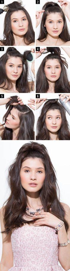 Tutorial capelli: la coda di cavallo alta con cascata da fare in 4 minuti -cosmopolitan.it