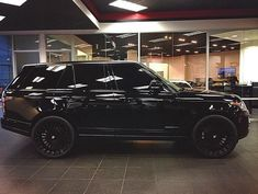 Cool Cars dream 2017: Blacked out Range Rover...  Cars Check more at http://autoboard.pro/2017/2017/04/18/cars-dream-2017-blacked-out-range-rover-cars-2/
