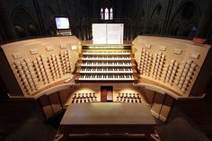 Nouvelle Grand Organ Console of Notre-Dame Cathedral - Paris,   France