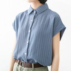 Kim Taipan 705 / Blues Blue / summer 2016 new Korean Women sleeveless striped…