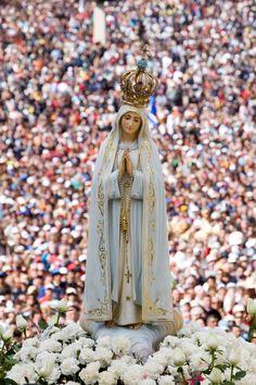 Our Lady of Fatima fervor, Mama Mary, Mary I, Holy Mary, Lady Of Lourdes, Lady Of Fatima, Blessed Mother Mary, Blessed Virgin Mary, Catholic Art, Religious Art