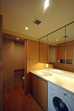目黒S邸の部屋 洗面所