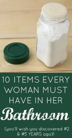 10 Insanely Clever Items Every Woman MUST Have In Her Bathroom! (you'll wish you discovered #2 & #5 YEARS ago...) | Butter Nutrition