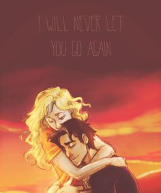 Original picture by burdge-bug, but someone else colored it in. Percabeth <3. Reminds me on my friend's ( Leila Cano's) drawings.