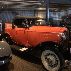 My favourite car at Bill Richardson's transport museum Invercargill. Of course the orange paintwork is amazing and byDizine's corporate colour too!!!