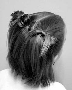 22.Cute Hairstyle for Short Hair