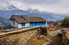 Dhampus is a small village not far from Pokhara.This shot was taken recently during my trip to Nepal in Feb 2012.