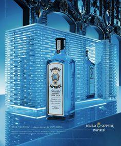 """Safe keeping"" - Jun Aoki (Bombay Sapphire Inspired)"