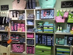 Check out this colorful wall of SCOUT at Winyah Bay Trading located in Charlotte, NC!