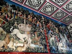 unicorn tapestries stirling castle history #scotland #castles http://www.locomotionscotland.co.uk