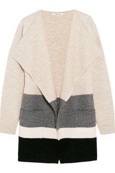 Madewell   Striped boiled wool cardigan   NET-A-PORTER.COM