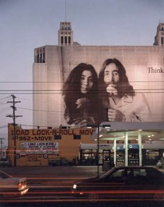 hollywood, ca All we are saying, is give peace a chance. Yoko Ono and John Lennon.