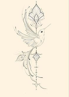 Mini Tattoos, Body Art Tattoos, Small Tattoos, Sleeve Tattoos, Anklet Tattoos, Feather Tattoos, Simbolos Tattoo, Tattoo Drawings, Phoenix Tattoo Feminine