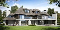 Denoldervleugels architects & associates moderne landelijke villa