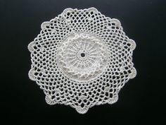 Handmade Crochet Round Doily