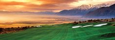 Imagine golfing with this view! Check out 1862 David Walleys Hot Springs Resort for amazing packages starting at $179. http://www.1862hotsprings.com/