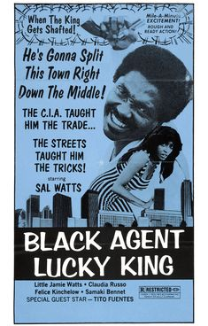 Black Agent Lucky King (aka Solomon King) (1974, USA)