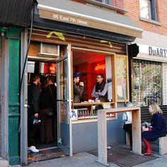 America's Best Coffee Bars on Food & Wine - Cartel Coffee, Tempe, AZ; Victrola Coffee roasters Seattle; Dose Nashville, Octane Atlanta