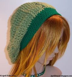 April Draven: Lucky Slouchy Hat