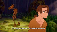 Poor BEN -- Treasure Planet, lol we all have moments like this