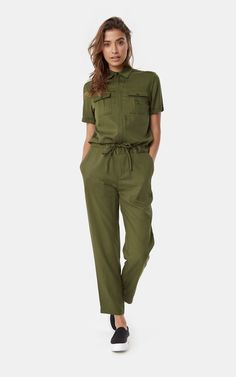 f727598717 Onepiece Utility Jumpsuit Army Jumpsuit Outfit