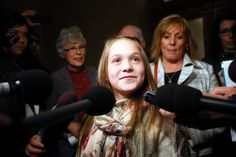 One brave young lady - unlike the Ontario Wynne Government!