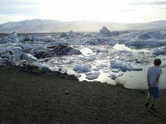 Jökulsárlón (Glacier Bay) in Suðurland, Suðurland