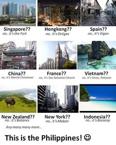 World Class destinations, the Philippines World Class Destinationen, die Philippinen Memes Pinoy, Filipino Memes, Tagalog Quotes, Filipino Funny, Batanes, Philippines Culture, Hetalia Philippines, Philippines Travel, Filipino Culture