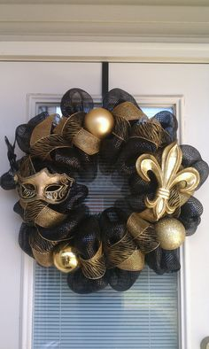 New Orleans Saints Wreath
