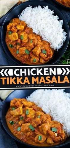 Try Indian food this winter with this Chicken Tikka Masala! It is an Indian chicken dish that has a creamy tomato curry sauce. This winter menu idea has a more intense and complex flavor than your� More Easy Holiday Recipes, Fun Easy Recipes, Easy Chicken Recipes, Winter Recipes, Healthy Chicken, Delicious Recipes, Healthy Food, Tasty, Healthy Recipes