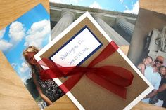 DIY photo book - great idea for the next hols